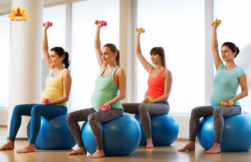 Top 6 Bài tập thể dục cho mẹ bầu khoẻ, bé khoẻ từ trong bụng mẹ