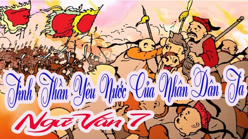"""Top 10 Bài văn phân tích bài """"Tinh thần yêu nước của nhân dân ta"""" của Chủ tịch Hồ Chí Minh"""