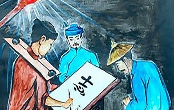 """Top 12 Bài văn phân tích cảnh cho chữ trong """"Chữ người tử tù"""" của Nguyễn Tuân"""