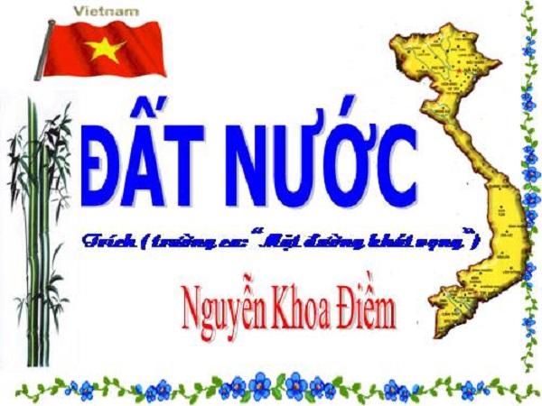 """Top 10 Bài văn phân tích tác phẩm """"Đất nước"""" của Nguyễn Khoa Điềm hay nhất"""