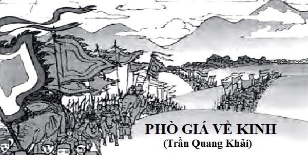 """Top 10 Bài văn phân tích tác phẩm """"Phò giá về kinh"""" của Trần Quang Khải"""