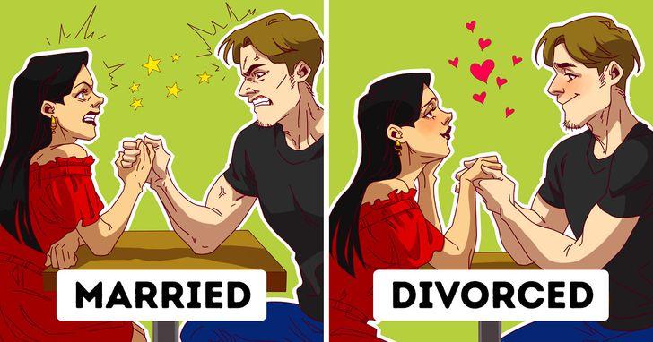 Top 6 Lý do ly hôn sẽ tốt hơn sống trong một cuộc hôn nhân tồi tệ