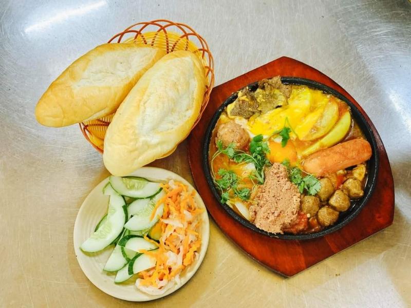 Top 8 Quán bánh mỳ chảo ngon nhất Hà Đông, Hà Nội