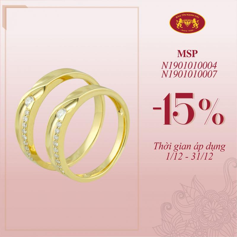 Top 5 Địa chỉ mua nhẫn cưới đẹp và uy tín nhất quận Thanh Xuân, Hà Nội