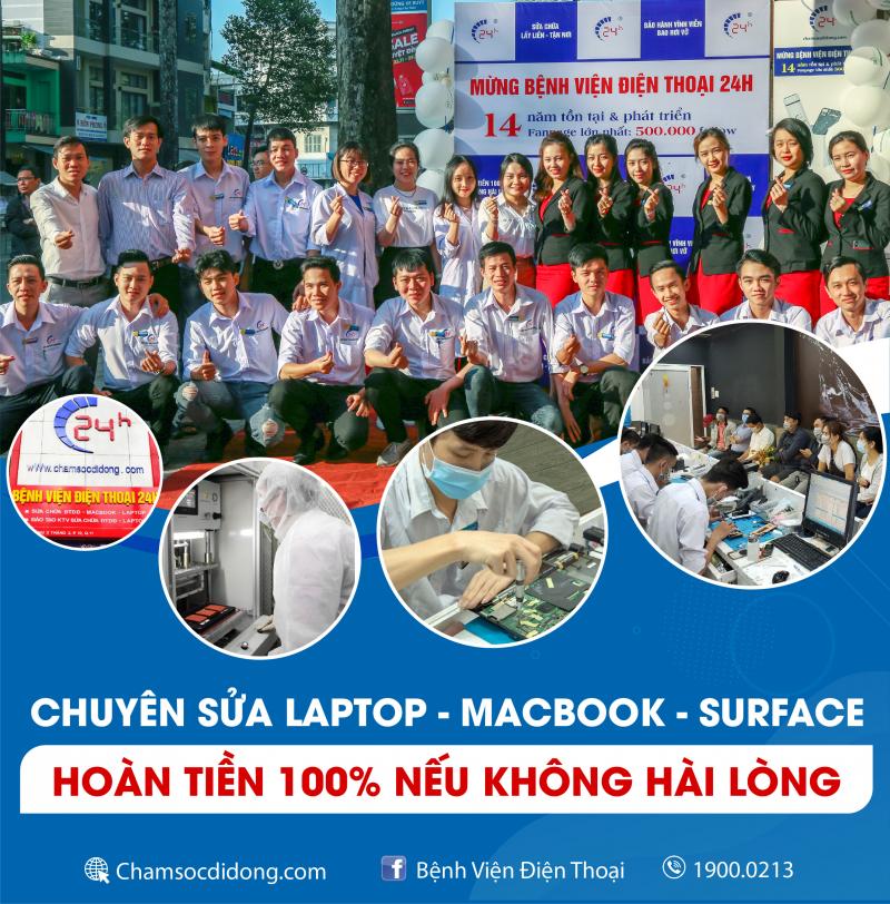 Top 11 Trung tâm sửa chữa máy tính/laptop uy tín nhất tại TPHCM