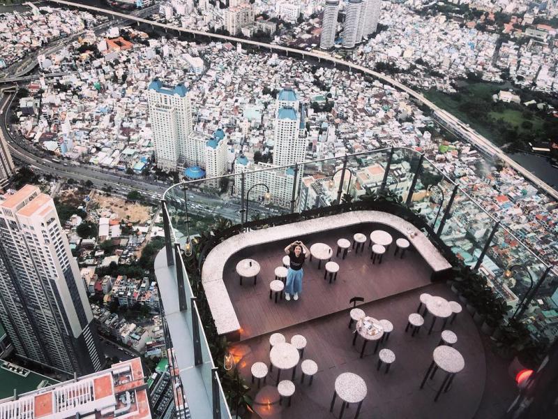 Top 10 Quán cafe nóc nhà tuyệt đẹp ngắm Sài Gòn từ trên cao