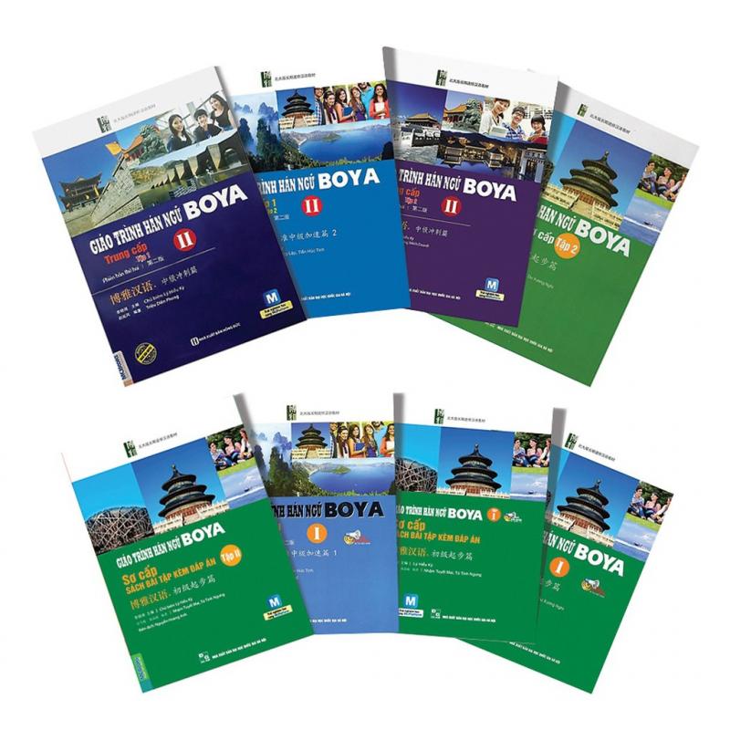 Top 3 Giáo trình học tiếng Trung thông dụng nhất