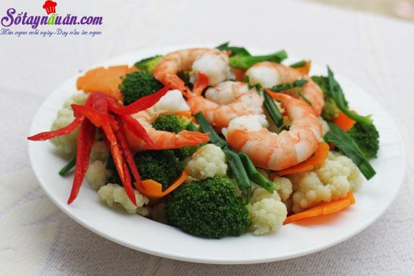 Top 10 Món ăn và cách chế biến từ rau giúp trẻ tăng chiều cao