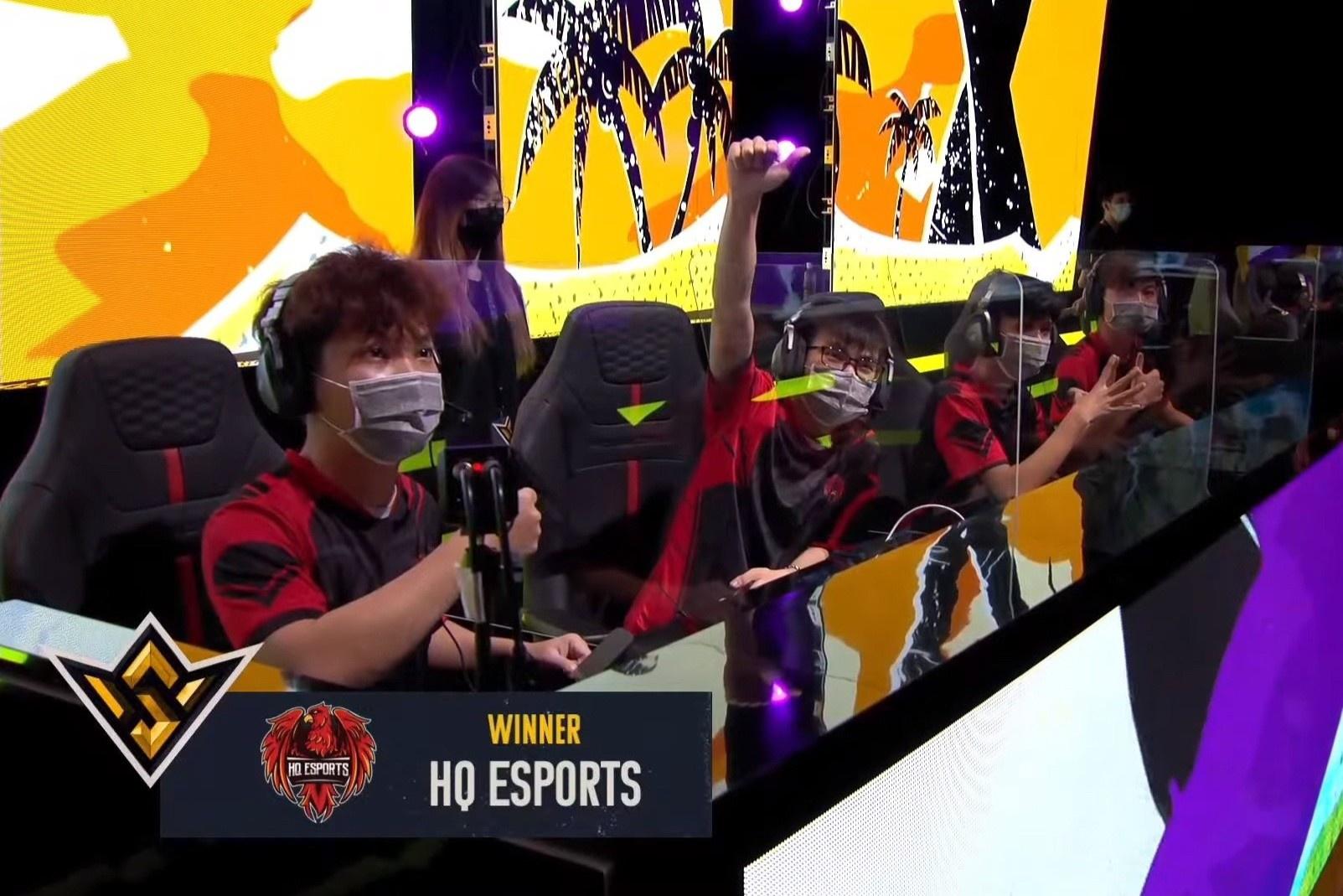 HQ Esports vào top 5 CKTG 2021 tựa game Free Fire