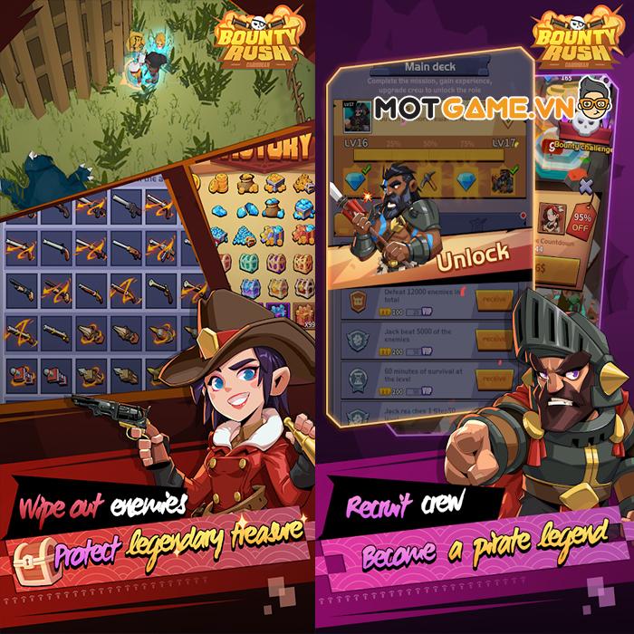 Khám phá các vùng biển bí ẩn cùng game Bounty Rush: Caribbean