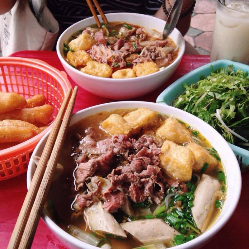 Top 12 Quán bún riêu ngon nhất tại Hà Nội