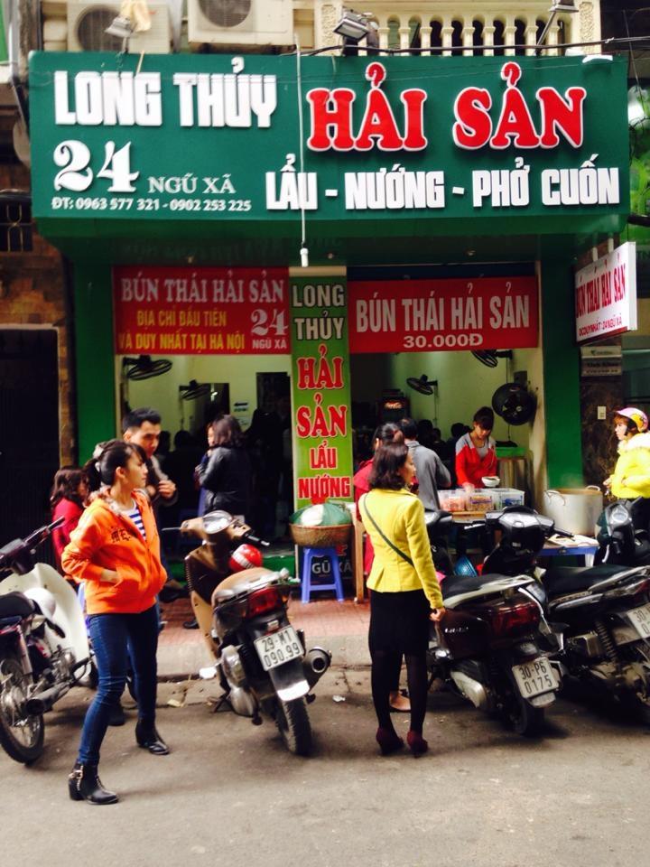 Top 8 Quán bún thái hải sản đông khách ở Hà Nội