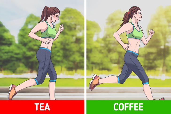 Top 5 Lý do uống cà phê tốt hơn trà vào buổi sáng
