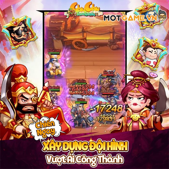 Chiu Chiu Tam Quốc – Tựa game thẻ tướng 8vs8 chuẩn bị cấp bến Việt Nam