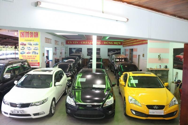 Top 8 địa chỉ mua ô tô cũ uy tín nhất ở thành phố Hồ Chí Minh