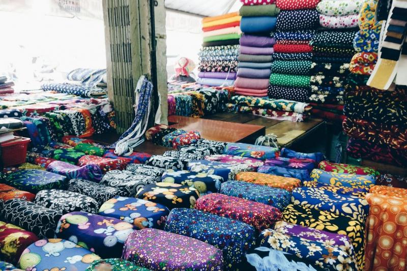 Top 8 Chợ phụ liệu lớn nhất ở Sài Gòn