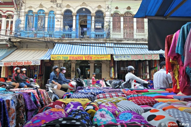 Top 9 Địa chỉ mua vải đẹp và giá rẻ nhất Sài Gòn