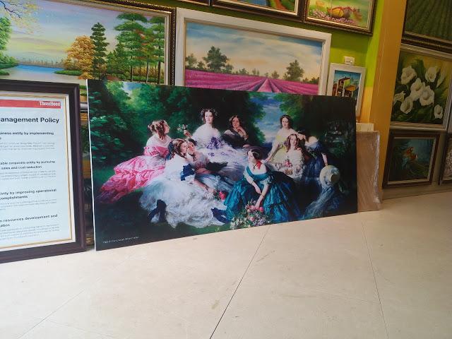Top 6 Xưởng in tranh canvas chất lượng nhất tại Hà Nội