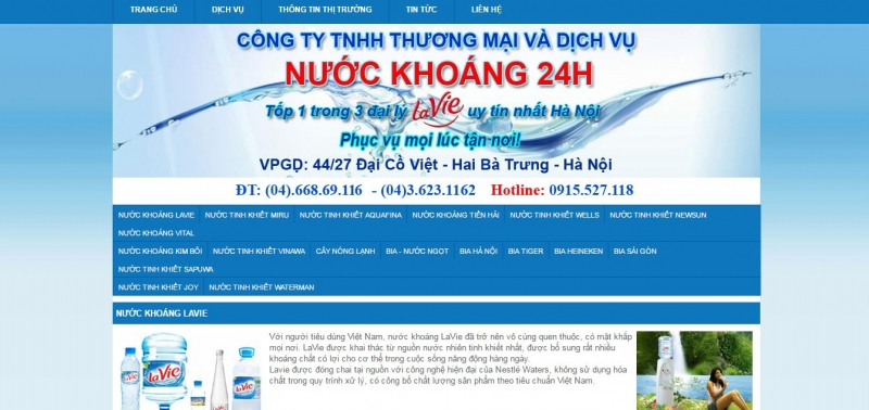 Top 10 Dịch vụ giao nước tinh khiết tại nhà uy tín nhất Hà Nội