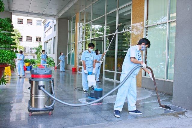 Top 7 Công ty dịch vụ vệ sinh văn phòng tốt nhất ở Hà Nội