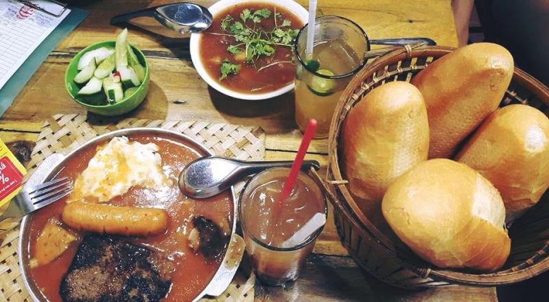 Top 12 Quán bánh mỳ chảo vừa rẻ vừa ngon ở Hà Nội