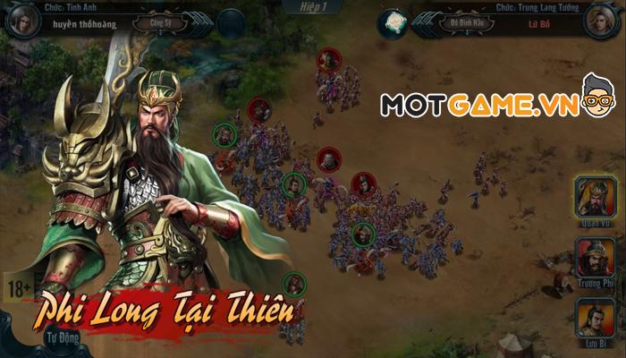 Chiến Tướng Tam Quốc Mobile: Game điều binh khiển tướng chính tông