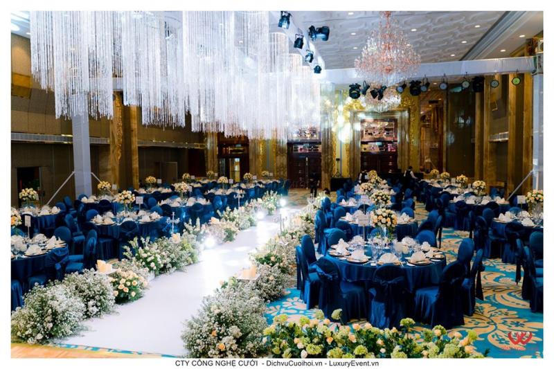 Top 7 Dịch vụ trang trí tiệc cưới đẹp nhất quận Gò Vấp, TP. HCM