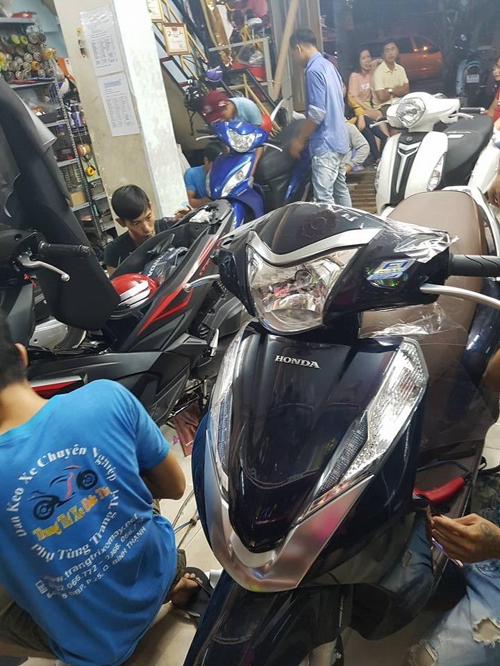 Top 10 địa chỉ dán keo/decal xe máy đẹp giá rẻ nhất TPHCM