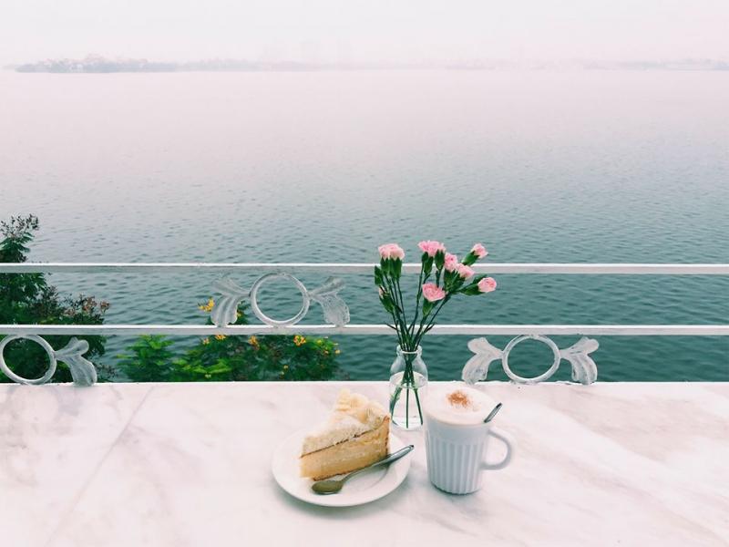 Top 6 Quán cà phê view đẹp trên đường Nguyễn Đình Thi, Hà Nội