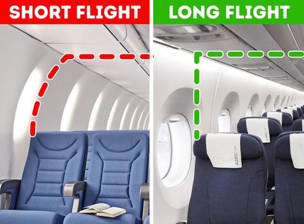 Top 11 Đặc điểm quan trọng trên máy bay mà hầu hết hành khách không để ý