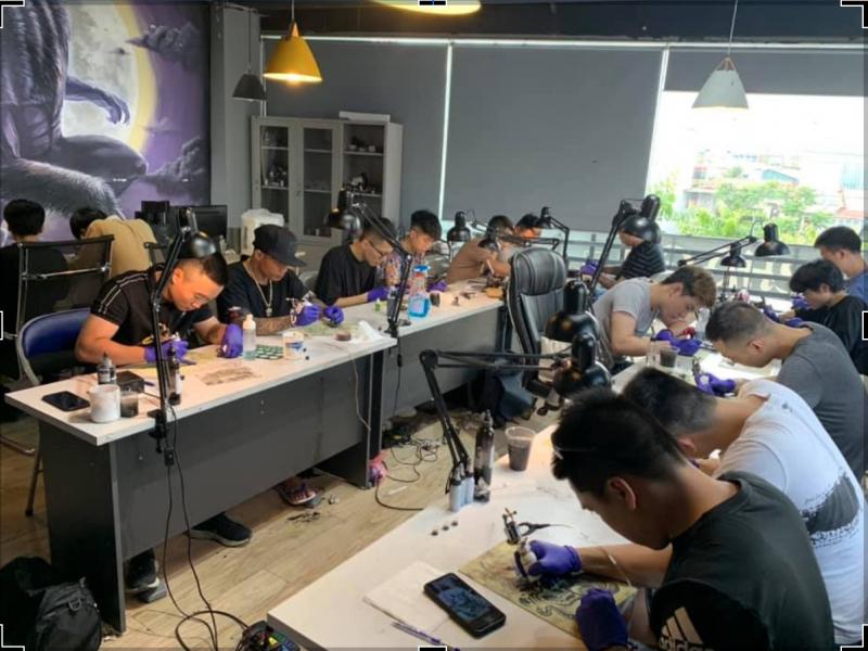 Top 12 Địa chỉ dạy xăm nghệ thuật uy tín và chất lượng nhất Hà Nội