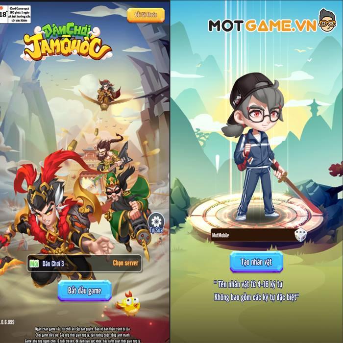 Trải nghiệm Dân Chơi Tam Quốc game thẻ tướng 3Q chất chơi nhất mùa hè 2021
