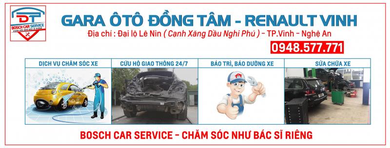 Top 5 Gara sửa chữa ô tô uy tín và chất lượng ở TP. Vinh, Nghệ An