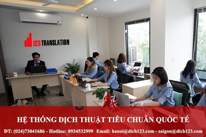 Top 11 Công ty dịch thuật uy tín nhất tại Hà Nội