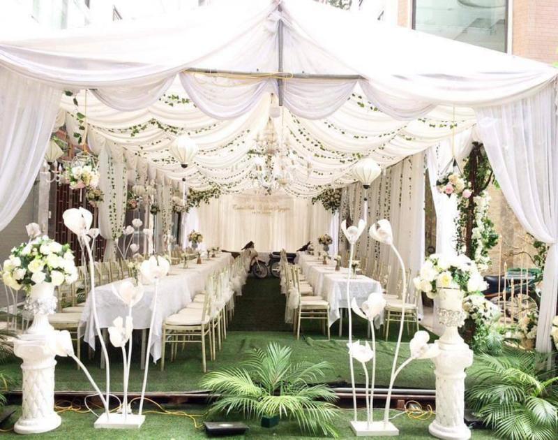 Top 6 Dịch vụ trang trí tiệc cưới đẹp nhất quận Long Biên, Hà Nội