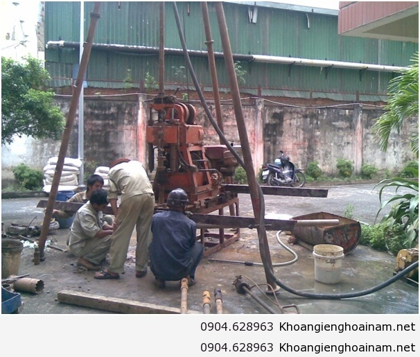 Top 10 Dịch vụ khoan giếng chất lượng giá rẻ nhất tại Hà Nội