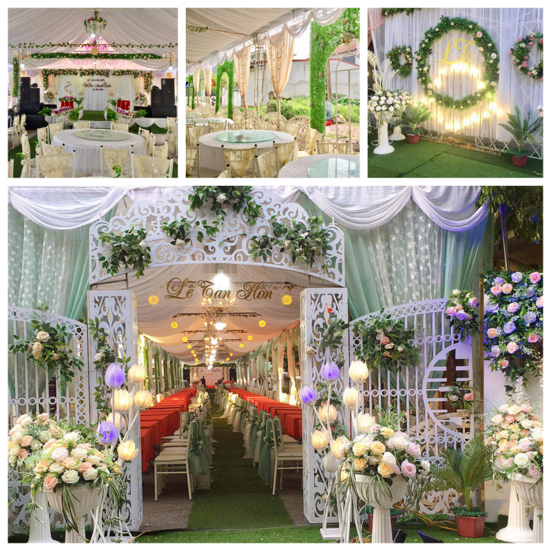 Top 5 Dịch vụ trang trí tiệc cưới đẹp nhất Hải Dương