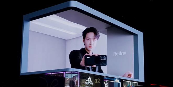 """Quảng cáo Billboard siêu """"đỉnh"""" của smartphone chơi game Xiaomi Redmi K40"""