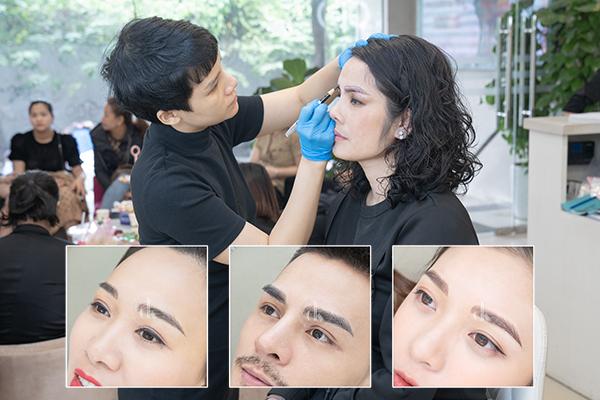 Top 4 Dịch vụ Hairstrokes lông mày uy tín hàng đầu tại Hà Nội