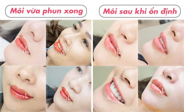 Top 10 Địa chỉ phun môi đẹp nhất Quận Hai Bà Trưng, Hà Nội
