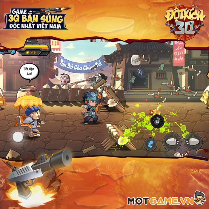 Đột Kích 3Q Mobile – Tựa game bắn súng đề tài Tam Quốc sở hữu gameplay độc đáo