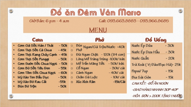 Top 5 Cửa hàng ship đồ ăn ngon tận nhà tại Hà Nội
