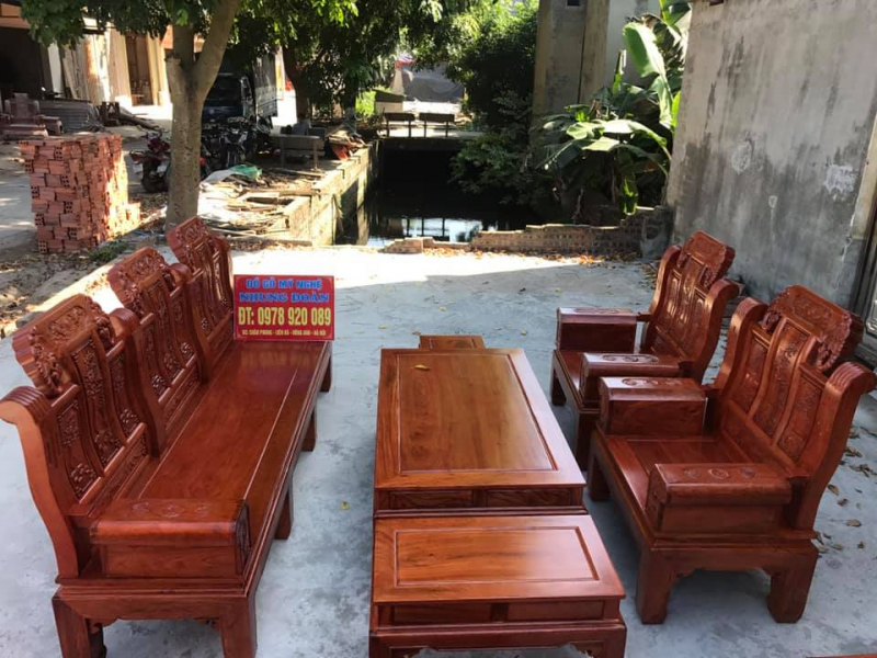 Top 8 Địa chỉ bán salon gỗ đẹp nhất Hà Nội