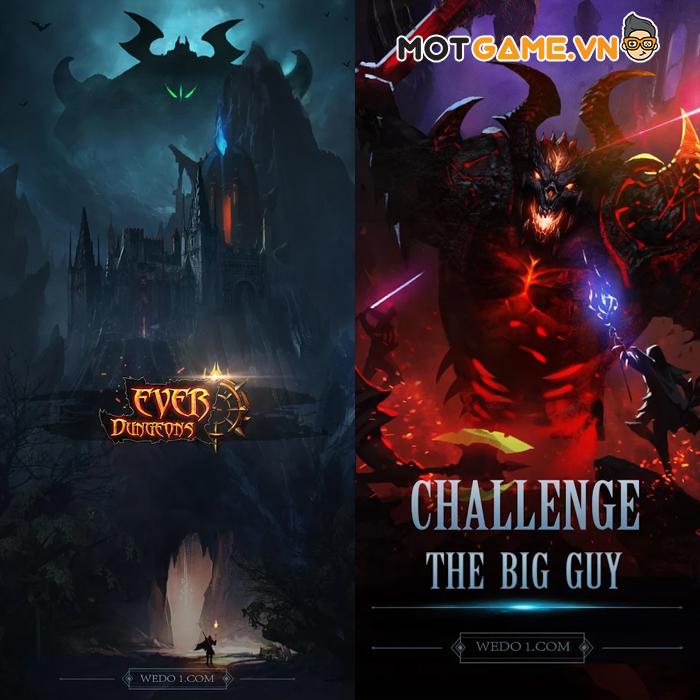 Khám phá các dungeon bí ẩn nhất cùng Ever Dungeon : Dark Survivor