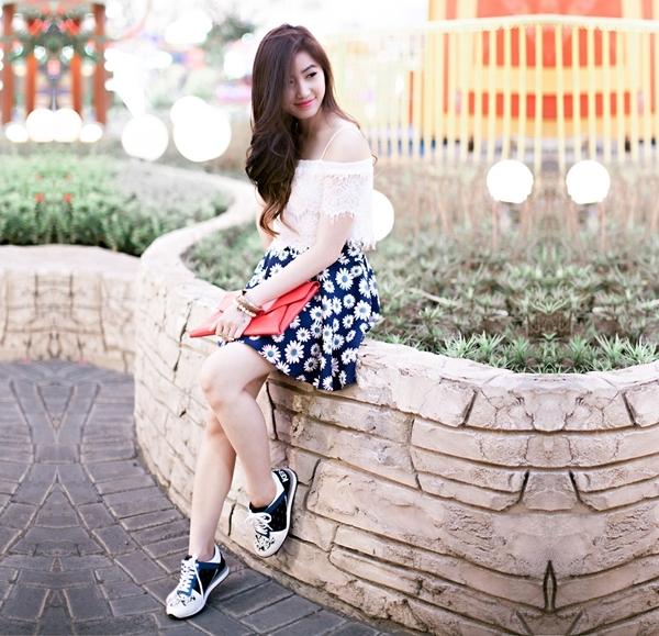 Top 9 Cách phối đồ với giày thể thao nữ cực chất và sành điệu