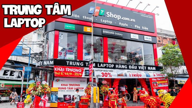 Top 7 Cửa hàng mua laptop uy tín nhất TP. Hồ Chí Minh