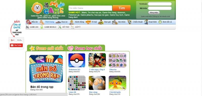 Top 5 Loại Webgame online nổi tiếng nhất