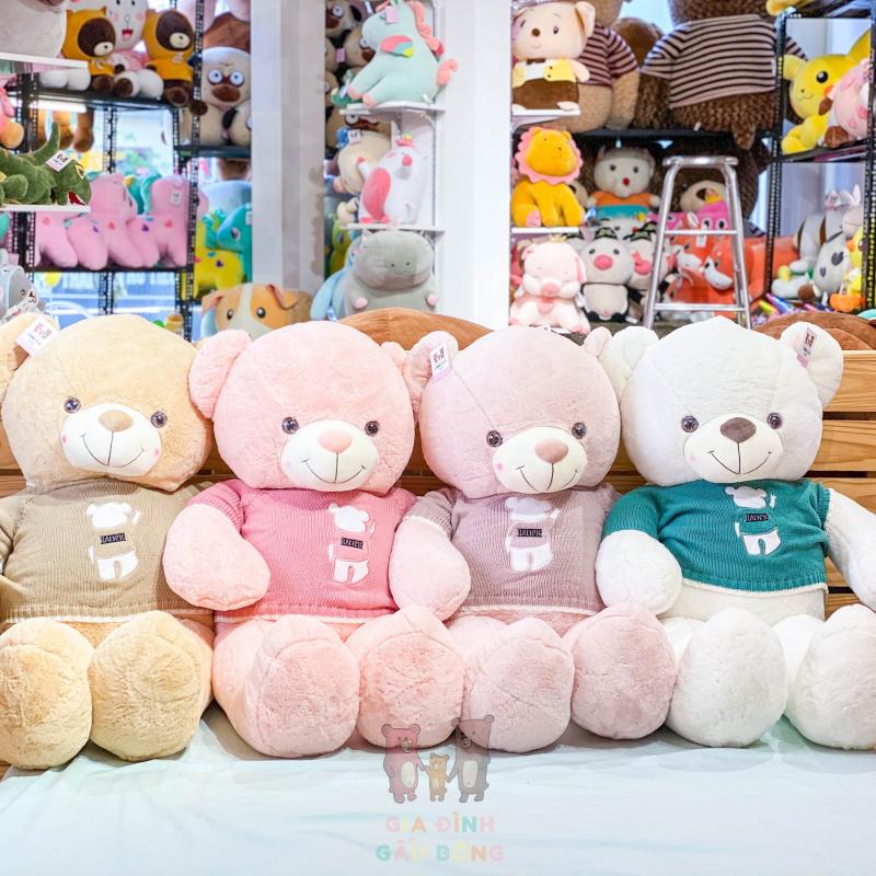 Top 5 Shop gấu bông đẹp nhất quận Phú Nhuận, TP. HCM