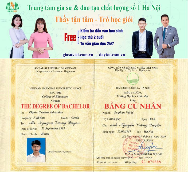 Top 11 Trung tâm gia sư uy tín và chất lượng nhất ở Hà Nội