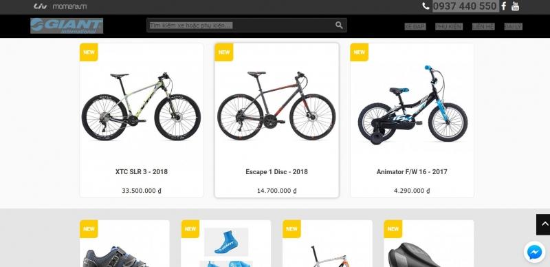 Top 10 Cửa hàng bán xe đạp thể thao tại TP. HCM